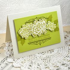 Fabulous Birthday Card by Dawn McVey for Papertrey Ink (August 2013)