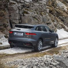 #AWD. Awesome Winter Driving. #Jaguar #FPACE #SUV #AmazingCars247