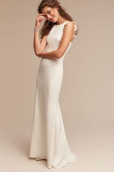 Ivory Heather Gown | BHLDN