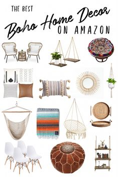 The just one room in your home in which you ought to be capable of take it easy and have some snooze is your bedroom. Diys Room Decor, Diy Home Decor, Home Decor Items, Boho Living Room, Living Room Decor, Boho Chic Bedroom, Small Patio Spaces, Outdoor Spaces, Amazon Home Decor