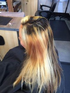 Nichole Gustas (@nicholedoeshair) tackled this mess and succeeded. Here she offers the HOW TO, including balayage formula and technique for this ombre and color melt finish.