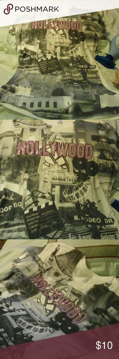 Nwot Hollywood  T shirt Very soft tee, Next Level Tops Tees - Short Sleeve