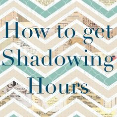The PA Platform - How to get Shadowing Hours