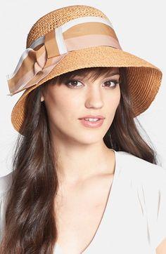 Flora Bella 'Lola' Raffia Hat available at #Nordstrom