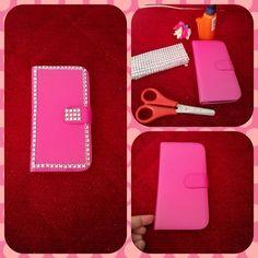 #kendinyap #telefon #kilif #telefonkabi #generalmobile #pembe #pink #parlak #savoroski