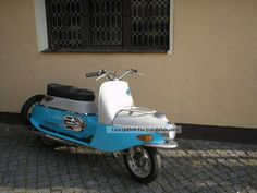 Jawa  JAWA CZ scooter La Boheme Cesetta 1964 Vintage, Classic and Old Bikes photo