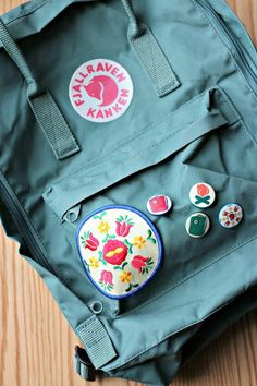 Embroidery and kanken are the best!