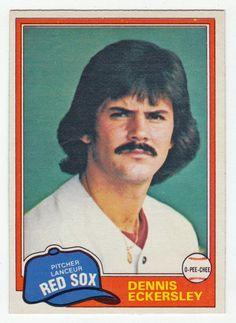 Dennis Eckersley # 109 - 1981 O-Pee-Chee Baseball