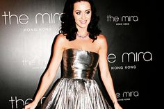 Katy Perry, sparkling.