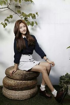 "Kim Sae Ron from ""Hi! School: love on!"""