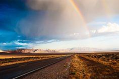 """500px / Photo """"Nevada Rainbow 3"""" by John Hunter"""