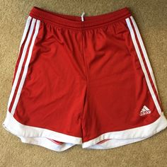 Adidas shorts The tags on the inside have been cut out but these will fit size small or xs Adidas Shorts