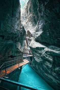 Aare Gorge; Switzerland