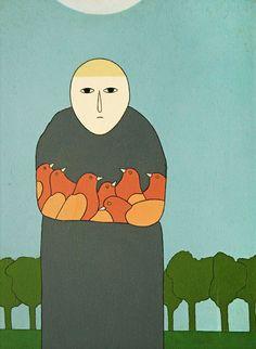 São Francisco, 1985 Antônio Maia ( Brasil, 1928) acrílica sobre tela, 61 x 46 cm