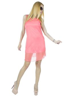 Rochie Dama Solemn Corai  Rochie dama confectionata dintr-un material fin, ce cade lejer pe corp. Model inspirat ce se muleaza frumos pe silueta, aceasta rochie este ideala pentru sezonul cald. Taietura usor asimetrica.     Latime talie: 36cm  Lungime: 97cm  Compozitie: 100%Poliester Model, Dresses, Fashion, Vestidos, Moda, Fashion Styles, Scale Model, Dress