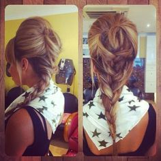 Most Popular 50 Different Hairstyles for Girls:   Beehive & Braid