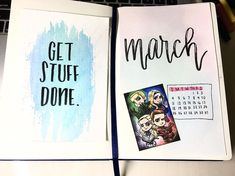March Arrowverse Theme by yovinkaa #Arrowverse #art #weekly #march #bujomonthly