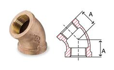 Bronze Fittings 45 Degree Elbow - Bronze 90° Elbows, Manufacturers and Suppliers of Bronze Fittings 45 Degree Elbow, Exporters of Bronze Fittings 45° Elbow, bronze pipe and flare fittings, Copper threaded fittings, Stainless Steel Single / Twin Ferrule Compression Fittings, Stainless Steel Pipe Fittings