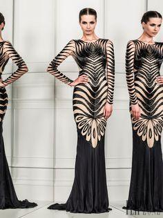 Zuhair Murad - Ready-to-Wear - Spring-summer 2014 - http://www.flip-zone.net/fashion/ready-to-wear/fashion-houses-42/zuhair-murad-4209