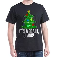 $25 It's a Beaut, Clark Christmas Tree Men's Favorite Tee from National Lampoon's Christmas Vacation movie
