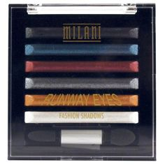 Milani Runway Eyes Fashion Shadows Milani http://www.amazon.com/dp/B006H8ON9I/ref=cm_sw_r_pi_dp_rWtsub0AYG9Y6