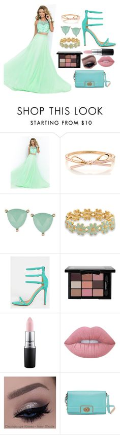 """""""Sequin Prom Outfit"""" by haileypeay on Polyvore featuring Lonna & Lilly, BillyTheTree, MAC Cosmetics, Lime Crime and Kate Spade"""