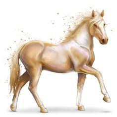 Pearl, Gemstone horse