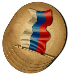 Custom  Cool 4 Inches Set Pack of 4 Round Circle Flat  Smooth Texture Drink Cup Coasters Made of MDF Wood w Russian Stripes Patriotic Russia Flag Design Colorful Tan White Blue  Red >>> This is an Amazon Affiliate link. You can find out more details at the link of the image.
