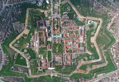 Alba Iulia citadel! Built in stellar shape!The only Vauban fortress in Romania!