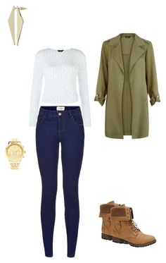 """""""Untitled #89"""" by christina-batts on Polyvore featuring Nature Breeze, Forever 21 and Topshop"""