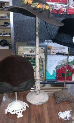 Vintage hat stands