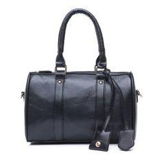 $10.02 Elegant Women's Street Level Handbag With Tote and Pendant Design