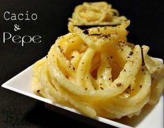cacio e pepe Polenta, Antipasto, How To Cook Pasta, Eat Pray Love, Fine Dining, Tricks, Food Art, Italian Recipes, Pasta Recipes