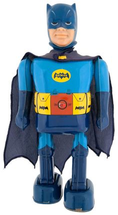 Vintage Japanese Batman Tin Windup toy