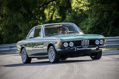 bmw 3.0 cs green