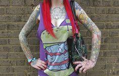 """Due giorni ad alta intensità artistica. Ovviamente dipende dai punti di vista quando si tratta di tatuaggi. Ma quello di Brighton nel sud dell'Inghilterra, è un appuntamento al quale curiosi e appassionati da tutto il mondo non possono mancare. In questa galleria alcune delle """"ope"""