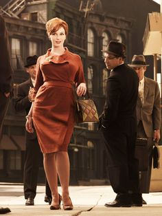 I love Christina Hendricks as Joan Holloway in Mad Men - such great style and a brilliant character! #lightboxing #officialblogger