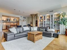Condo for sale in Ville-Marie (Montréal) - $845,000  Beautiful and elegant:1700SF, 2 bedroom, 2bathroom, 2 garages.  Open concept for great entertaining with gas fireplace.   Located right downtown in the infamous LOFTS ST JAMES.   Don't miss this opportunity. Condos For Sale, Gas Fireplace, Garages, Lofts, Open Concept, Opportunity, Real Estate, Couch, Entertaining