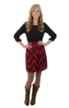 Lizard Thicket - Touchdown Dress in UGA, $39.99 (http://www.shoplizardthicket.com/touchdown-dress-in-uga/)