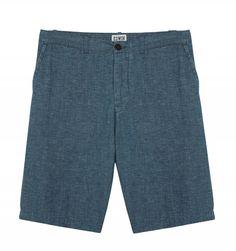 Edwin CHAMBRAY RAIL SHORT #Edwin #Shorts Swim Shorts, Bermuda Shorts, Ss16, Chambray, Looks Great, Indigo, Fashion, Moda, La Mode