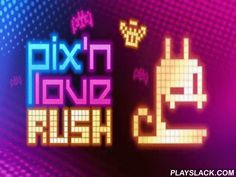 Pix'n Love Rush  Android Game - playslack.com , Pix'n Love Rush - will please all devices of neon, and also of 8-bit graphics. This platformer for android suggests you to direct a pixel stake and to pass diverse levels, accumulating  bonuses and injuring  at foes. For advocates of this kind of games, there are some means - time, non-stop, etc. journey on neon levels as a lovely stake   can t be anything good to disburse free time well?