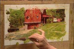 Richard Schmid paints the landscape. June [Repost]