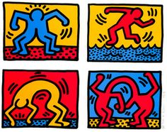 Pop Shop Quad II | Keith Haring