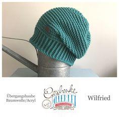 Tunella's Geschenkeallerlei präsentiert: das ist Wilfried, eine geniale gehäkelte Haube/Mütze aus einer Baumwolle/Acryl-Mischung - Du kannst dich warm anziehen, dank sorgfältigem Entwurf, liebevoller Handarbeit und deinem fantastischen Geschmack wirst du umwerfend aussehen. #TunellasGeschenkeallerlei #Häkelei #drumherum #Beanie #Haube #Mütze #handgemacht #Geschenk #Wilfried