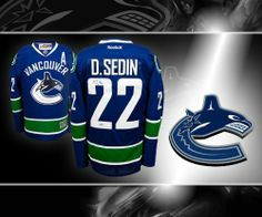 39351dc9ea7 Daniel Sedin Vancouver Canucks Autographed Jersey . $359.10. This is an  official licensed Daniel Sedin