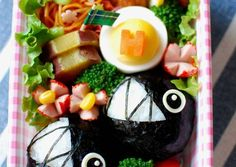 Super Mario Chain Chomp Bento Recipe -  Are you ready to cook? Let's try to make Super Mario Chain Chomp Bento in your home!