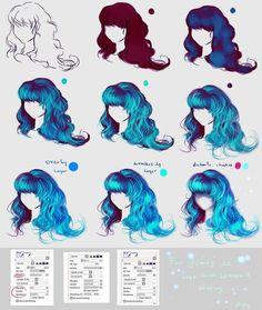 cabelos azuis tutorial                                                                                                                                                                                 Mais