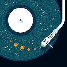 ideas music poster illustration artists for 2019 Design Graphique, Grafik Design, Oeuvre D'art, Vinyl Records, Vinyl Music, Music Music, Music Concerts, Sound Music, Rock Music
