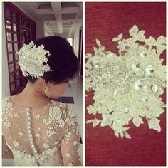 Bespoke Bridal Hairpiece