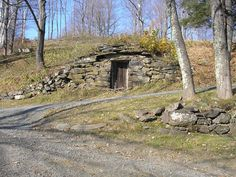 I love this picture of an old hill side root cellar...  Sing It Like Maureen | TF Metals Report - Page 11